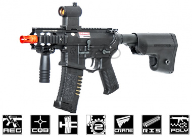 ARES Amoeba Polymer M4 Stubby w/ Electronic Trigger System Airsoft Gun