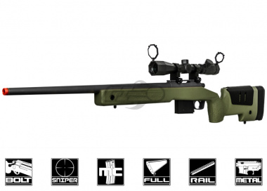 Ares MCM700X Spring Sniper Rifle Airsoft Gun ( OD )