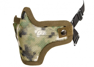 Bravo Strike Steel Half-Face Mesh Mask ( AR02 )