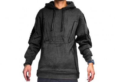 Cast Gear Tactical Pullover Hoodie ( Black / Small )
