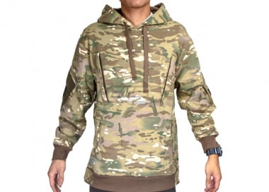 Cast Gear Tactical Pullover Hoodie ( Cast Camo / XX-Large )