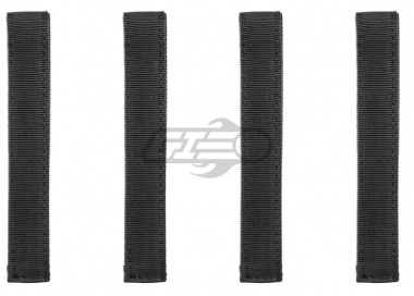 "Condor Outdoor 6"" MOD Straps ( 4 Pack / BLK )"