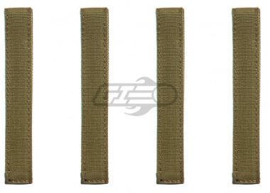 "Condor Outdoor 6"" MOD Straps ( 4 Pack / TAN )"