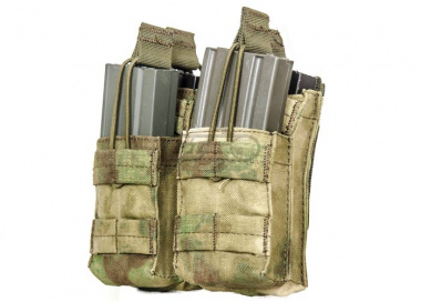 Condor Outdoor Double M4 Stacker Magazine Pouch ( A-TACS FG )