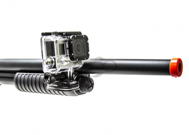 Capture Your Hunt Shotgun Left or Right Mount w/ Keeper for GoPro