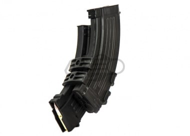 CYMA AK 1100rd Electric Winding HI-CAP Magazine With Sound Control - Black (Requires 3 x AAA Battery)