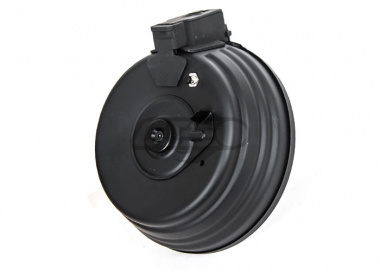 CYMA 2500rd Full Metal Electric Drum AEG Magazine for AK With Sound Control (Requires 3 x AA Battery)