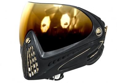 Dye Tactical i4 Thermal Full Face Mask ( Black and Gold )