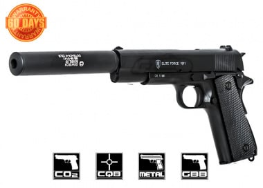 Elite Force Full Metal 1911A1 CO2 Blowback Pistol Airsoft Gun