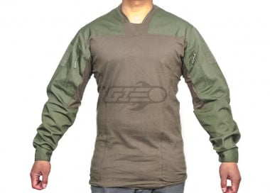 Emerson TL LEAF Combat Shirt By Lancer Tactical ( OD / SM )