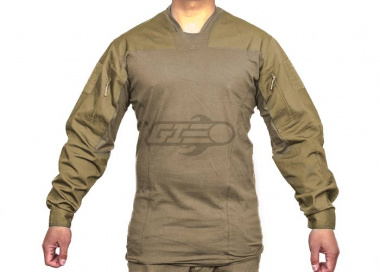 Emerson TL LEAF Combat Shirt By Lancer Tactical ( Tan XS / XL )