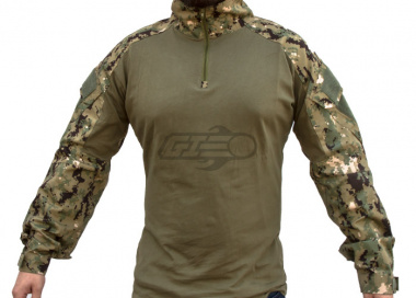 Emerson Gen 2 Combat Shirt by Lancer Tactical ( Jungle Digital / XS )