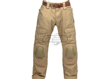 "Emerson Gen 3 Tactical Pants With Knee Pads by Lancer Tactical (Coyote Tan - XL/36"" Waist"