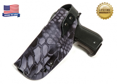 G-Code XST RTI Holster for Beretta M9 and M9 w/ Rail ( Left Hand / HOLSTER ONLY ) Kryptek Typhon