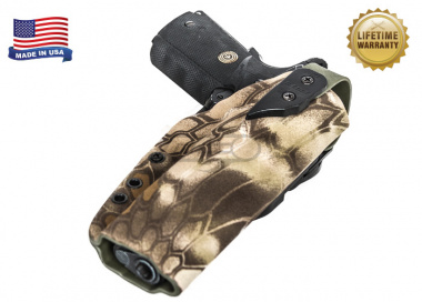 G-Code XST RTI Holster for 1911 With Rail ( Right Hand / HOLSTER ONLY ) Kryptek Highlander