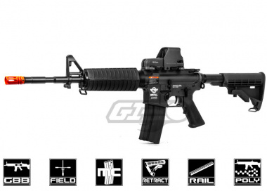 G&G Combat Machine M4 Carbine Gas Blow Back Airsoft Gun ( BLK / Verion 2 )