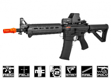 G&G Top Tech Full Metal TR4 MOD 0 Carbine AEG Airsoft Gun ( BK )