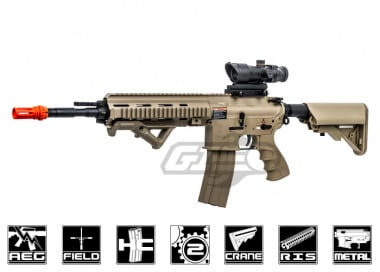 G&G Top Tech Full Metal TR4-18 Carbine Desert AEG Airsoft Gun