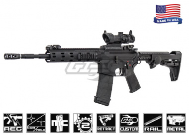 Airsoft GI Custom Platinum Daniel Defense MFR Battle Rifle Airsoft Gun