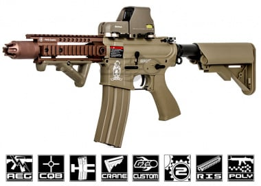 Airsoft GI Desert G4 PWS Blowback Version AEG Airsoft Gun ( Tan / Custom )