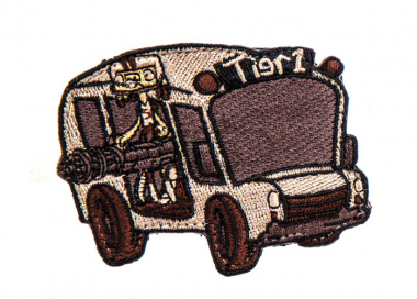 High Speed Gear Short Bus Patch ( Coyote Brown )