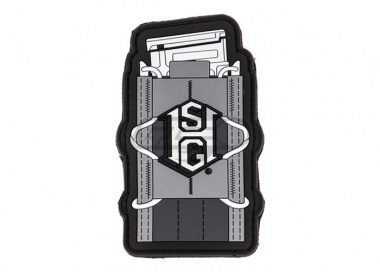 High Speed Gear TACO Morale Patch ( Urban Grey )