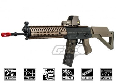 ICS Full Metal SIG 551 MRS AEG Airsoft Gun ( DE )