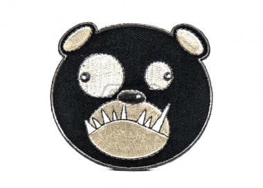 ill Gear v2 Biohazard Bear Head Tracker Velcro Patch ( Black )
