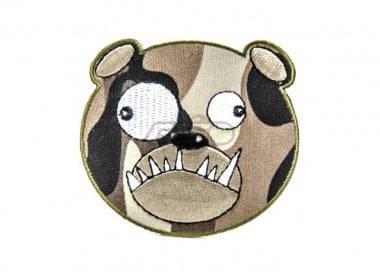 ill Gear v2 Biohazard Bear Head Tracker Velcro Patch ( Camo )