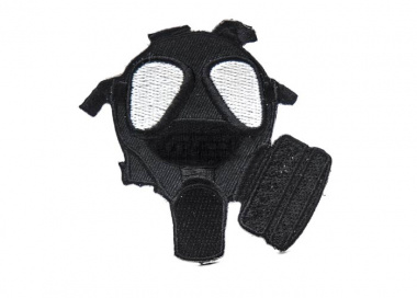 ill Gear Gas Mask Velcro Patch ( Black )