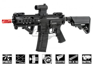 King Arms Full Metal M4 SIG 516 PDW AEG Airsoft Gun