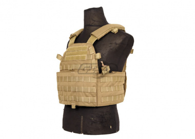 Lancer Tactical 4906 Plate Carrier ( Tan )