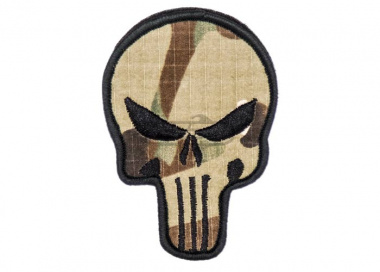 Lancer Tactical Punisher Velcro Patch ( Camo )
