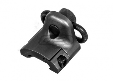 Lancer Tactical Hand Stop Sling Swivel Mount ( Black )