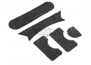 Lancer Tactical FAST Helmet MH Type Velcro Padding Sticker Set ( Black )