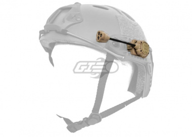 Lancer Tactical Helmet Multi-Lighting System ( Tan, Green & White & IR)