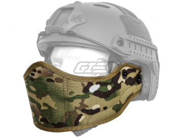Lancer Tactical Helmet Face Armour ( Camo )