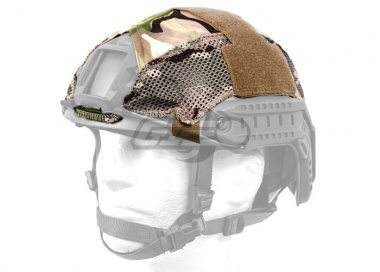 Lancer Tactical FAST Helmet Cover ( Camo Color )