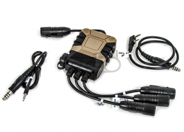 Lancer Tactical Push-To-Talk PRO PTT ( Kenwood & Mobile Phone Verion / Lite Edition )
