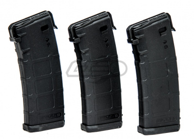 PTS RM4 P-Mag 30/60rd Mid Capacity AEG Magazine ( 3 Pack / BLK )