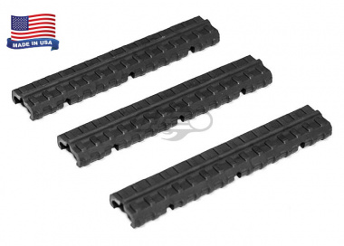"Manta 6"" VLP Wire Routing Rail Cover ( Black / 3 Pack )"