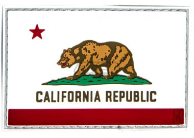 Maxpedition California Flag PVC Patch ( Full Color )