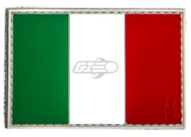 Maxpedition Italy Flag PVC Patch ( Full Color )