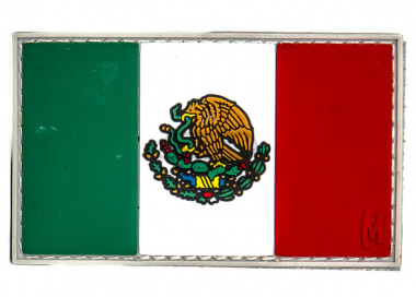 Maxpedition Mexico Flag PVC Patch ( Full Color )