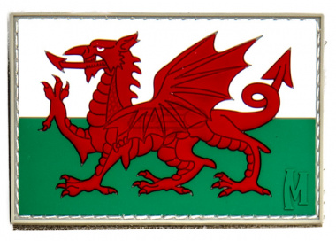 Maxpedition Wales Flag PVC Patch ( Full Color )
