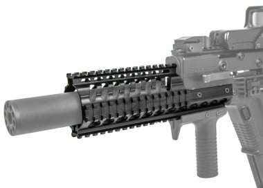 Magic Box Extended Aluminum Rail System for KWA Kriss Vector