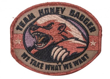Honey Badger Patch ( Forest )