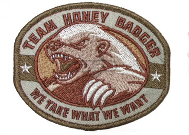 Honey Badger Patch ( Multicam )