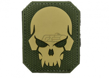 MM Pirate Skull PVC Large Patch ( Multicam )