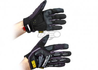 Mechanix Wear M-Pact Gloves 2012 Version ( Black / Small )